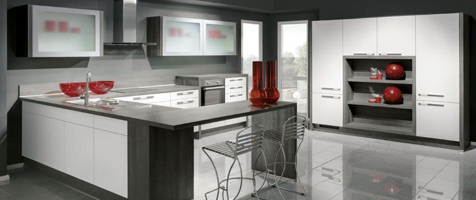 Red cocina noroeste for Italian modular kitchen designs